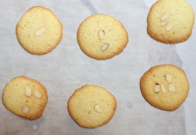 Gluten Free Chinese Almond Cookies