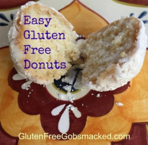 Easy Gluten Free Donuts